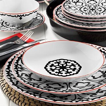 596612 Desen 24 Parça Kütahya Porselen